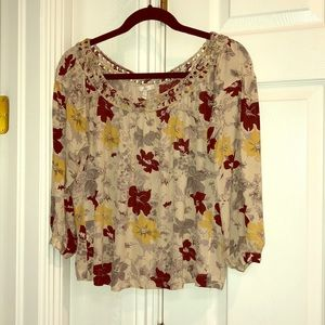 Joie Floral Top